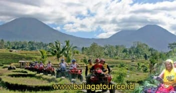 ATV Ridding bersama Paddy Adventure Bali