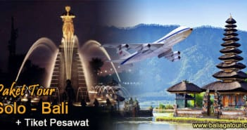 Paket Tour Dari Solo Ke Bali