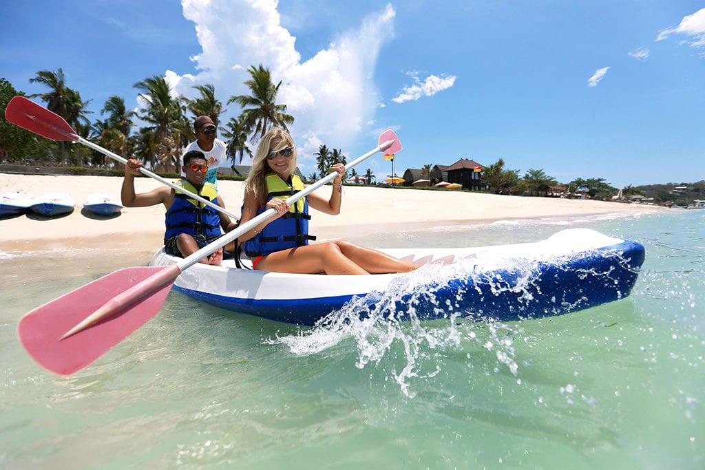 kayaking bali