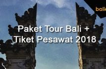 Paket Tour ke Bali + Tiket Pesawat September-Oktober-November 2018