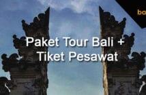 paket tour bali + tiket pesawat 2018